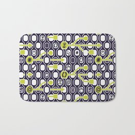geek spirit (Acid green) Bath Mat
