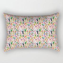 Doggy Park Rectangular Pillow
