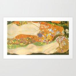 "Gustav Klimt ""Water Serpents"" Kunstdrucke"