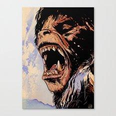 an american werewolf in london Canvas Print