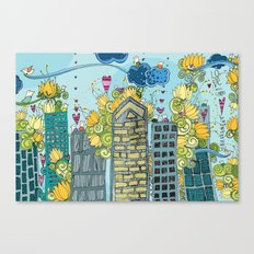 Livin' In The City  Canvas Print