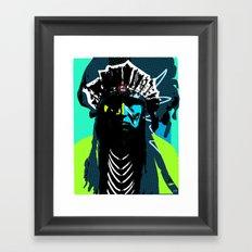 Indian Pop 50 Framed Art Print