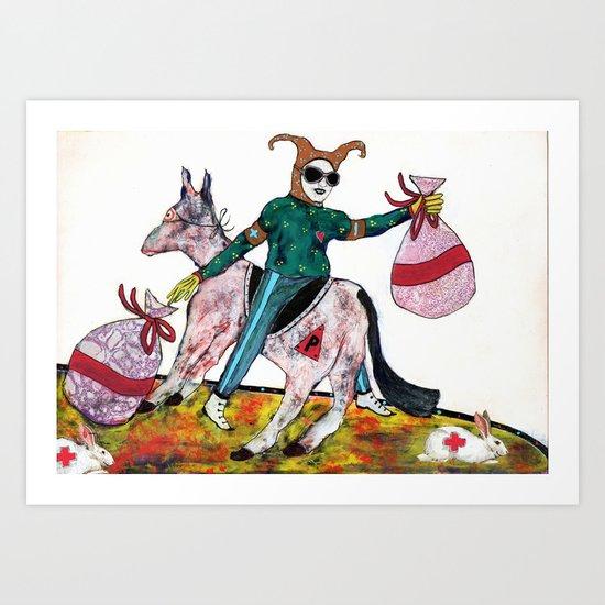 Philanthrope Art Print