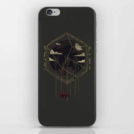 The Dark Woods iPhone Skin