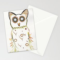 Faux Flammulated Fauna Stationery Cards