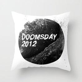 Doomsday 2012 Throw Pillow