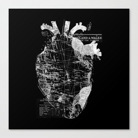 Heart Wanderlust Canvas Print