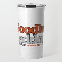 Goodkat & Baddog. Travel Mug