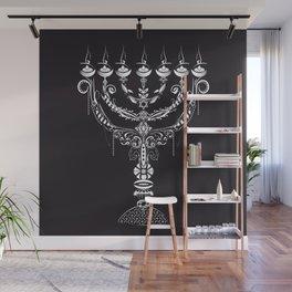 Menora מְנוֹרָה Wall Mural