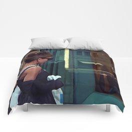 Audrey Hepburn #2 @ Breakfast at Tiffany's Comforters