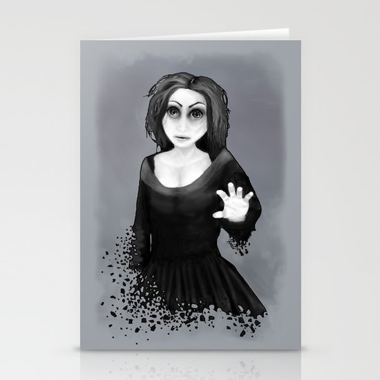 Disintegration Stationery Cards