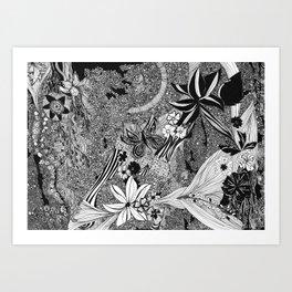 Jungle of Mind Art Print