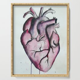 Anatomical Heart Serving Tray