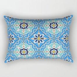 Vintage decorative elements pattern Rectangular Pillow