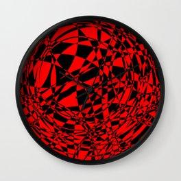 arcs, abstract 3 Wall Clock