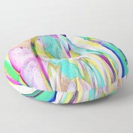 276 - Abstract Colour Design Floor Pillow