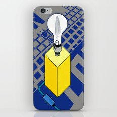 The case of The Light Switch. iPhone & iPod Skin