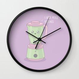 Mixed Feelings #kawaii #blender Wall Clock