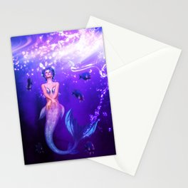 Rainbow Mermaid Stationery Cards