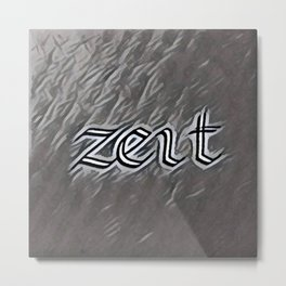 Zeit (Time) Metal Print