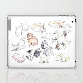 Sleepy French Bulldog Puppies Laptop & iPad Skin