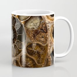 Earth treasures - Fossil in brown tones Coffee Mug