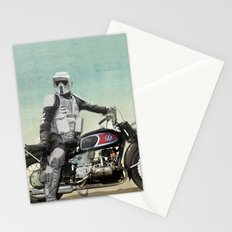 Looking for the drones, Scout Trooper Motorbike Stationery Cards