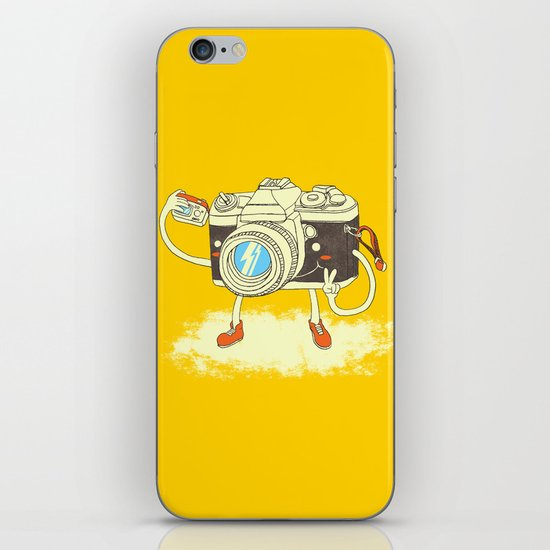 Self capture iPhone & iPod Skin