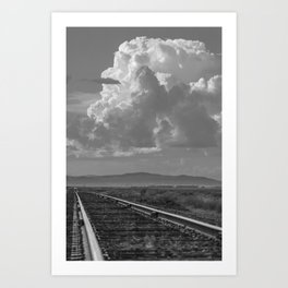 """Farm Country Rails"" by Murray Bolesta! Art Print"