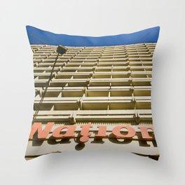 National Hotel Throw Pillow