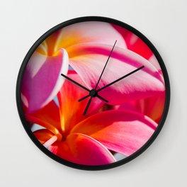 Pua Melia ke Aloha Keanae Dreams Wall Clock