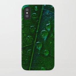 Green Bubbles iPhone Case