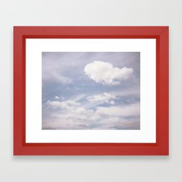 Sweet Clouds Framed Art Print