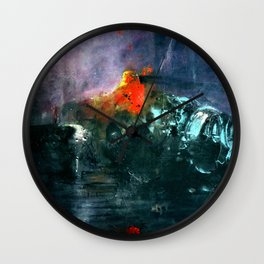 Waiting for Deckard Wall Clock