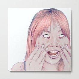 Minami Metal Print