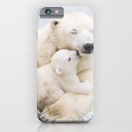 Polar Bear Love iPhone Case