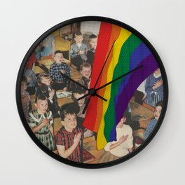 Recruitment Wall Clock