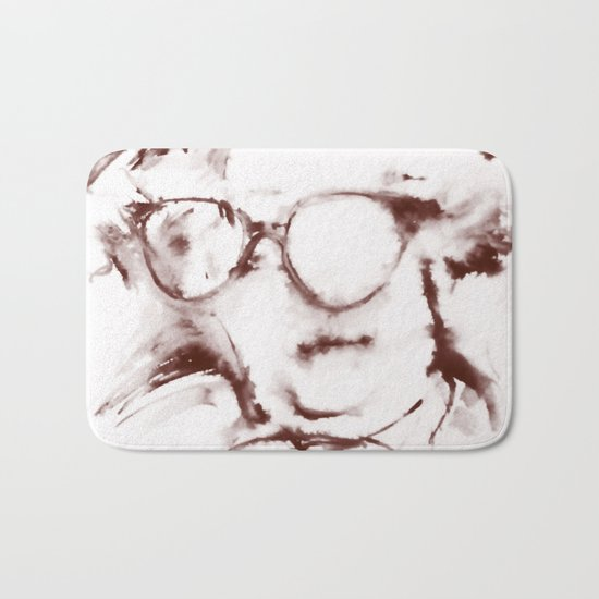 The Visionary Sepia Bath Mat