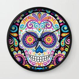 Sugar Skull (Cosmos) Wall Clock