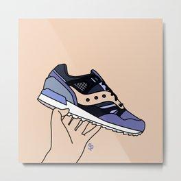 SneakerFreaker X Saucony Grid sd - Kushwacker Metal Print
