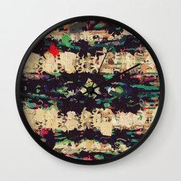 Shredded Wall Clock