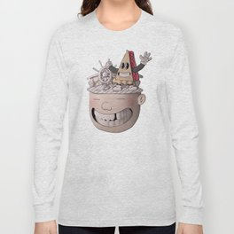 Pie Brains Long Sleeve T-shirt