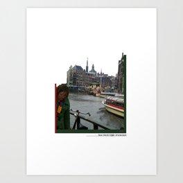New World Amsterdam Art Print