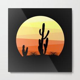 Mexican desert Metal Print