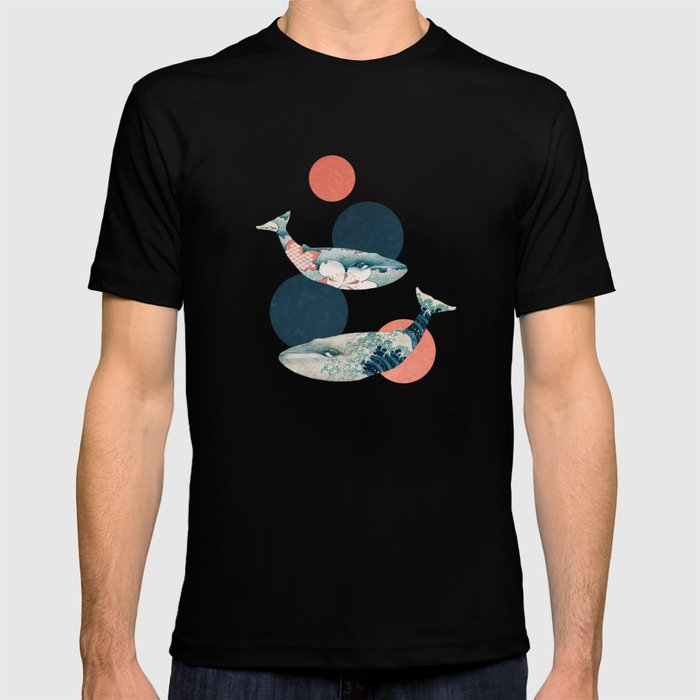 Whales and Polka Dots T-shirt