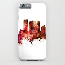 Fort Lauderdale Florida Skyline iPhone Case