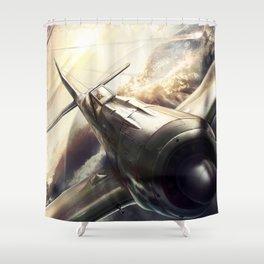 Focke-Wulf Fw 190 Shower Curtain