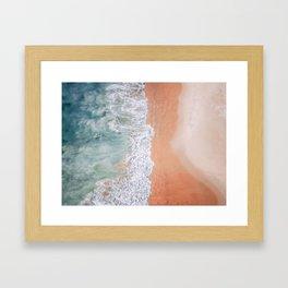 Sea Tide Framed Art Print