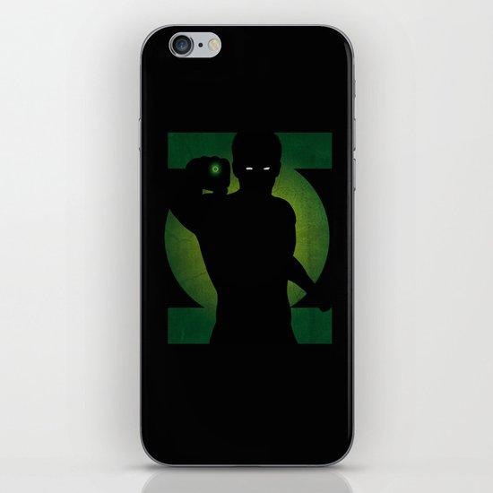 SuperHeroes Shadows : Green Lantern iPhone & iPod Skin