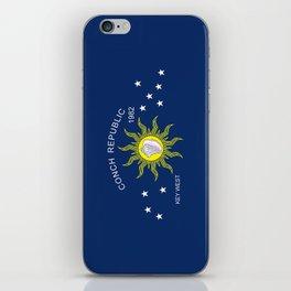 The Conch Republic Flag iPhone Skin
